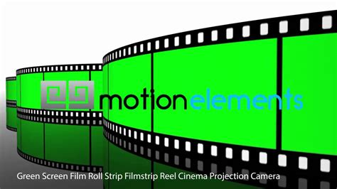 green screen film roll strip filmstrip reel cinema