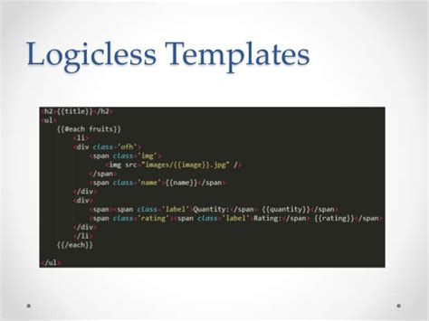 Javascript Templating Engine Javascript Template Engine Getting Started