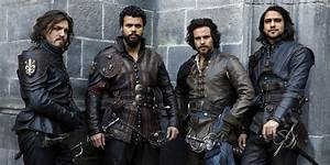 The Musketeers got a raw deal from the BBC at the end ...