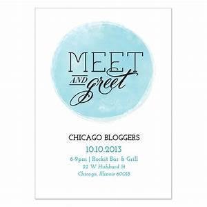 Meet and greet invitations samples stopboris Choice Image