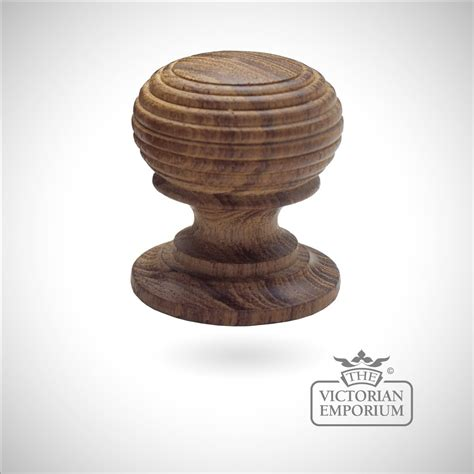 wooden cabinet knobs large wooden cabinet knob beehive knobs