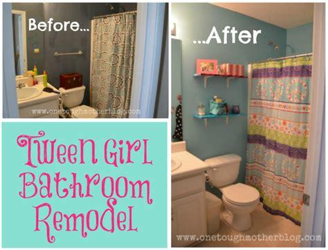 tween girl bathroom reveal sweet tea saving grace