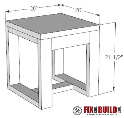 how to build an outdoor side table diy outdoor side table 2x4 and concrete fixthisbuildthat