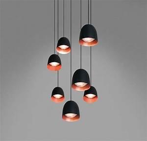 Suspension Noir Et Cuivre : suspension speers noir cuivre h11 5cm b lux ~ Melissatoandfro.com Idées de Décoration