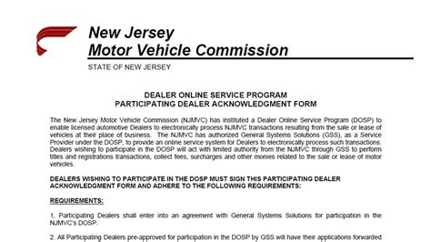 New Jersey Motor Vehicle License Renewal Locations