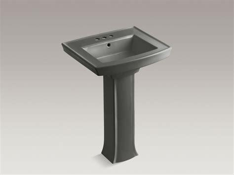 Kohler Archer Pedestal Sink Single by Standard Plumbing Supply Product Kohler Archer 174 K 2359