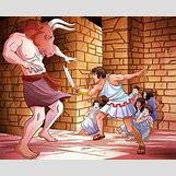 Theseus And The Minotaur For Kids | 635 x 517 jpeg 79kB