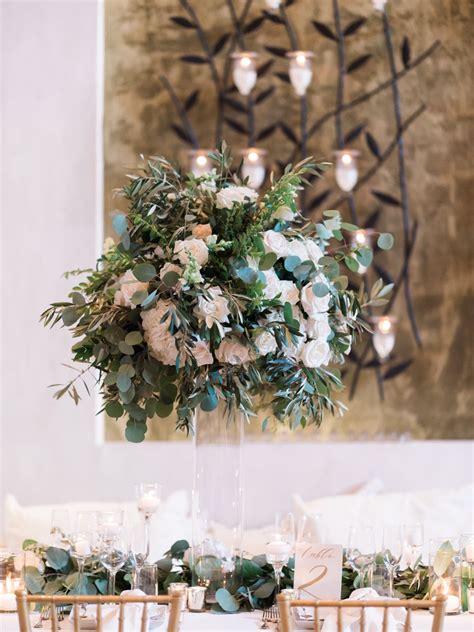 glamorous green  gold los angeles wedding  carmen
