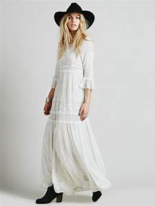 10 gorgeous boho wedding dresses from free people nouba With free people wedding dress