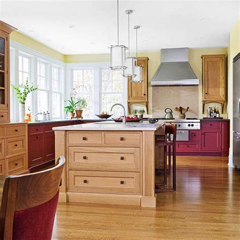 types of kitchen cabinets materials understand cabinet materials better homes gardens 8629