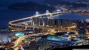 Download Gwangan Bridge Busan South Korea Wallpaper ...