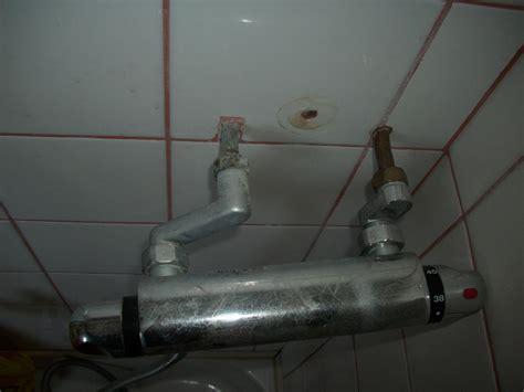 changer robinet de douche entraxe 110 par mitigeur avec