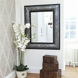 Antique Silver Embossed Mirror By Decorative Mirrors Online