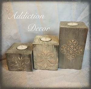 123 best furniture makeovers by addiction decor images on With kitchen cabinets lowes with polymer clay candle holder