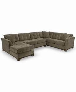 elliot fabric microfiber 3 piece chaise sectional sofa With elliot fabric microfiber 2 piece sectional sofa