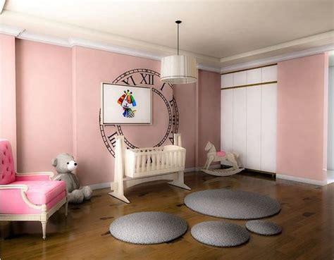 deco peinture chambre bébé fille deco maison moderne