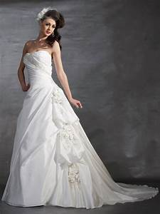 gorgeous white wedding gowns for ideal girls trends for With white dress for wedding