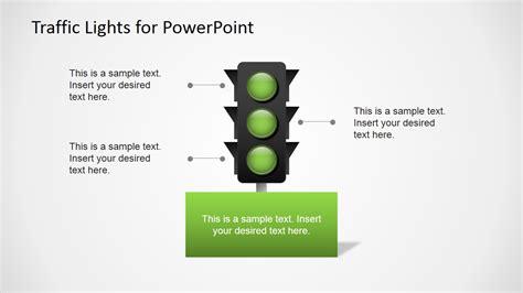 traffic lights  powerpoint slidemodel