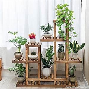 Fleur En Bois : stands de fleur en bois pr sentoir de plantes support de ~ Dallasstarsshop.com Idées de Décoration