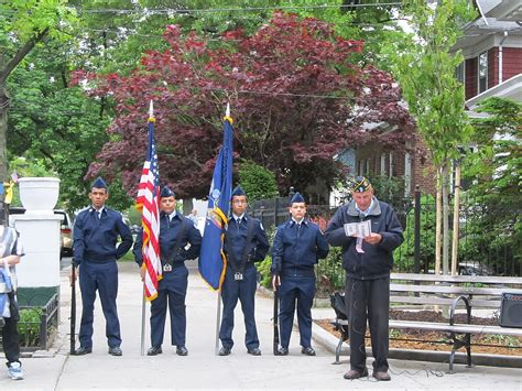 woodhaven remembers memorial day ceremony 1