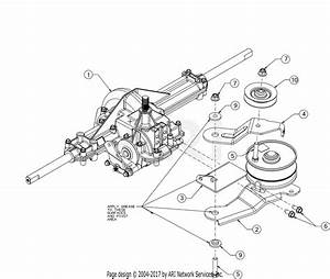 Mtd 13wn77ss031  Lt4200   2017  Parts Diagram For