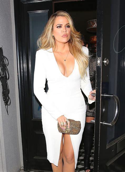 Khloe Kardashian Night Out Style - Leaving Craig's ...