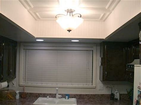 replace  recessed light   ceiling light