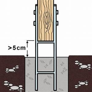 H Pfostenträger 800 : 1 gah h pfostentr ger feuerverzinkt extrastark 8 800 mm ~ Watch28wear.com Haus und Dekorationen