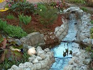 Bachlauf Im Garten : blauer bachlauf ~ Michelbontemps.com Haus und Dekorationen