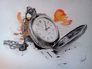 Pocket Watch Sketch by Chimere36 on DeviantArt