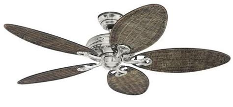 wicker ceiling fans australia ceiling fan savoy 132 cm 52 quot brushed chrome with