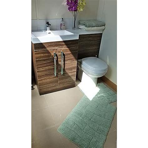 set tappeti per bagno set tappeti da bagno 100 cotone 2 pezzi ebay
