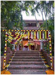Entrance Decoration Flowers