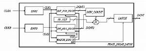 Functional Block Diagram Of The Phase Delay Latch And