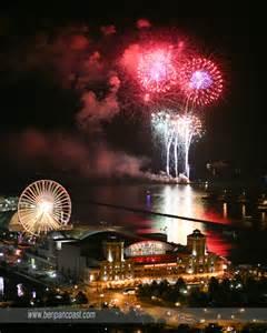 Fireworks Over Navy Pier Chicago