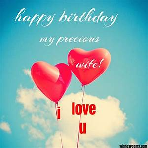 100 Romantic Birthday Wishes for Wife - Wishes Poems