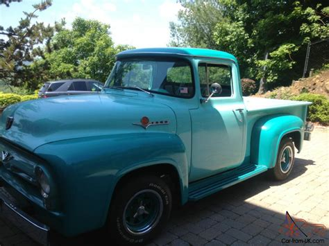 truck car ford 1956 ford f100 pickup truck