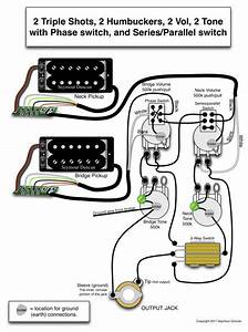 Les Paul With Phase Switch And Series  Parallel Switch
