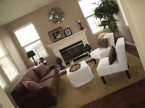 family room brown sofa living rooms brown sofa white chairs taupe walls white