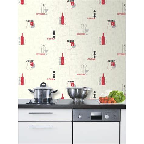 davaus papier peint cuisine gris avec des idées