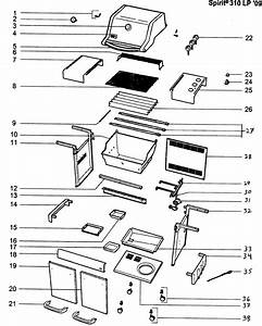 30 Weber Genesis E 310 Parts Diagram