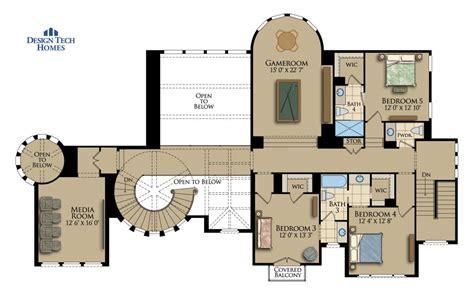 sq ft house plan  bed    bath  story  villa lago design tech homes