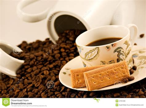 Coffee And Biscuits Royalty Free Stock Images Temple Coffee 22nd And K Espresso Maker For Camping Ethiopian Java Owner Value Chain Siem Reap Menu Pot Set Vs Makers