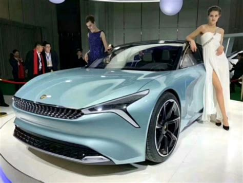Electric Car Brands by New Car Brands Launches 700 Hp Electric Concept