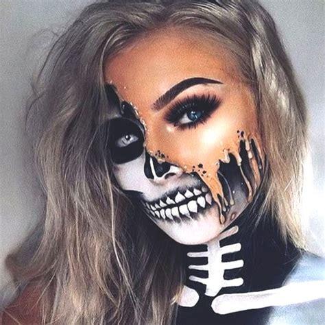 sexy  spooky halloween makeup ideas    october ecemella