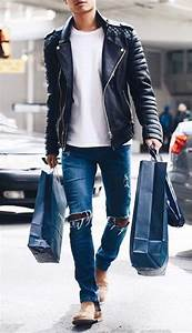 Dark Blue Ripped Jeans | Regular Fit - fidgetmyworld
