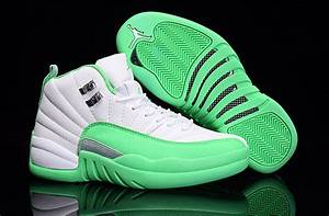 2016 Air Jordan 12 GS White Green For Sale | New Jordans 2017