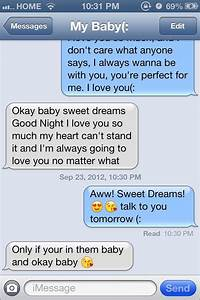 Sweet Text Messages  E R Y N N  U22c6 L A R A E  U265b On Twitter   I Love Waking Up To His Sweet Text