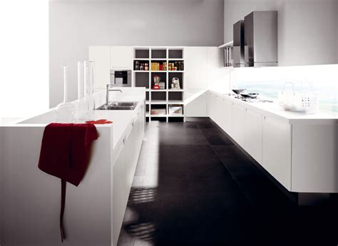 meuble de cuisine blanc brillant la cuisine blanche une tendance intemporelle