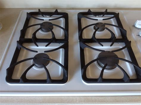 stove grates clean gas tips kitchen grill way vinegar cleaning orl baohns bbq